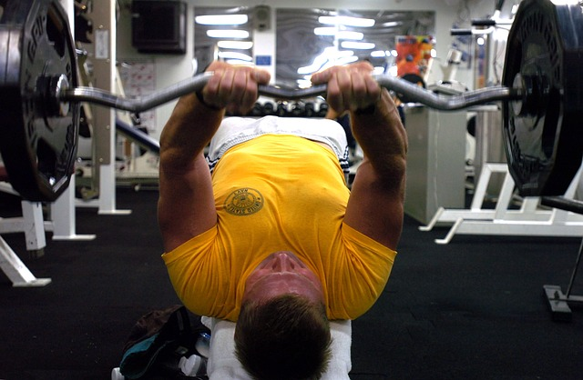 gym weight lifting