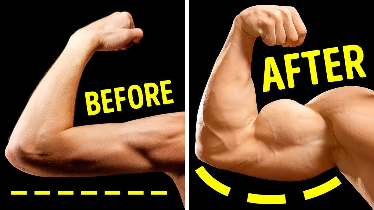 7 Exercises to Build Bigger Arms Without Heavy Weights