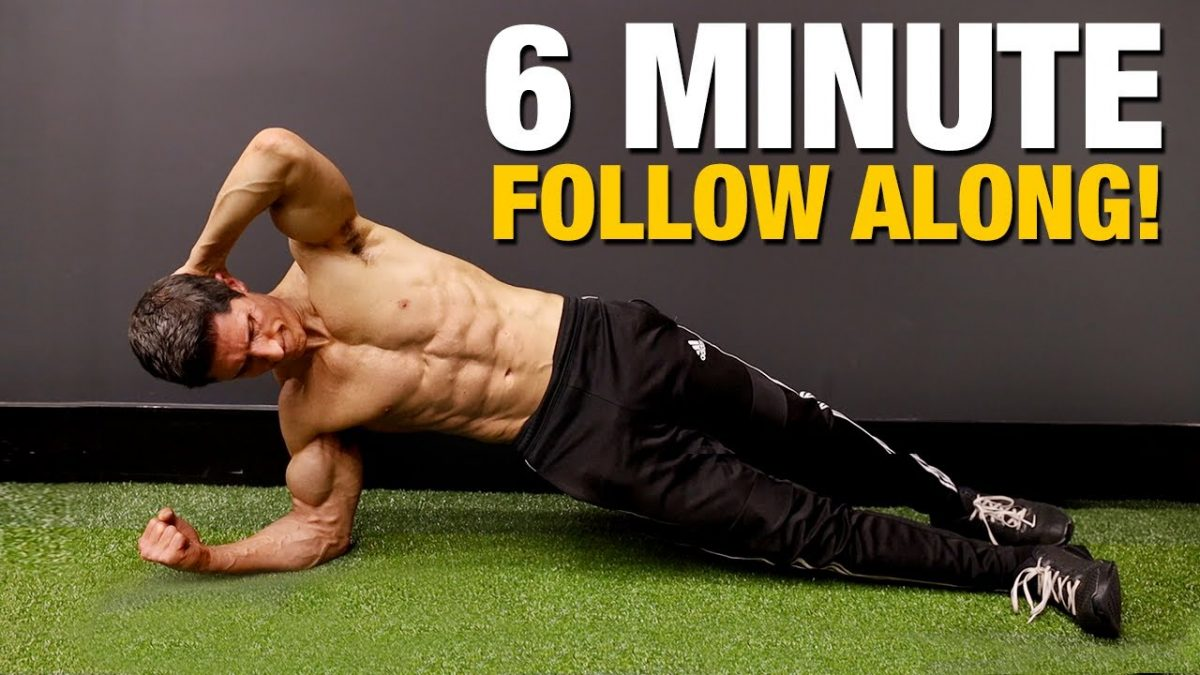 6 Pack Abs Workout | Just 6 Minutes!!