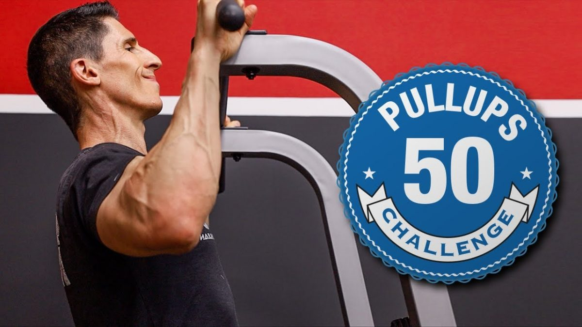 Jeff Cavaliere's Pull-Up Challenge